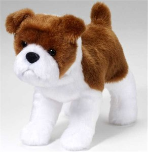 Bulldog Plush Stuffed Animal 8 Inch