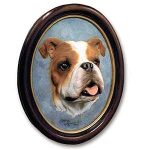 Bulldog Sculptured Portrait