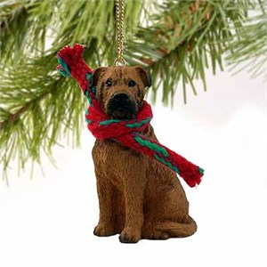 Bullmastiff Tiny One Christmas Ornament