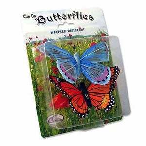 Butterfly Figurine Clip on