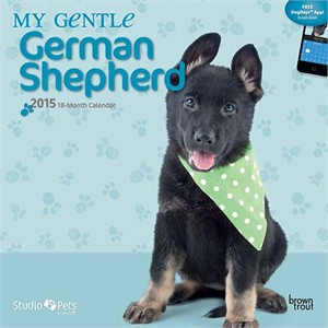 By Myrna - My Gentle German Shepherd Calendar 2015