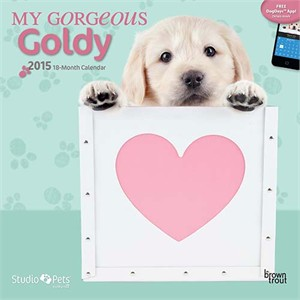 By Myrna - My Gorgeous Goldy Calendar 2015
