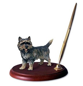 Cairn Terrier Pen Holder