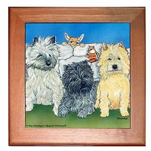 Cairn Terrier Trivet