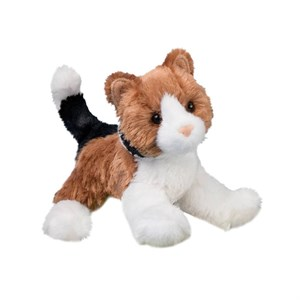 Calico Cat Stuffed Plush Animal