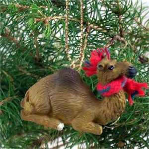 Camel Tiny One Christmas Ornament Dromedary