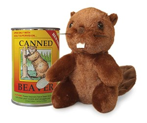 Beaver Canned Critter