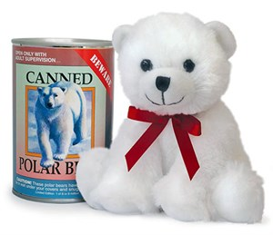 Polar Bear Canned Critter