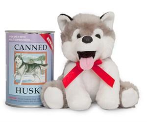 Siberian Husky Canned Critter