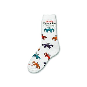 Cartoon Crabs Socks