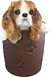 Cavalier King Charles Spaniel Pencil Holder