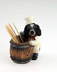Cavalier King Charles Spaniel Toothpick Holder