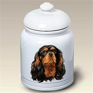 Cavalier King Charles Treat Jar