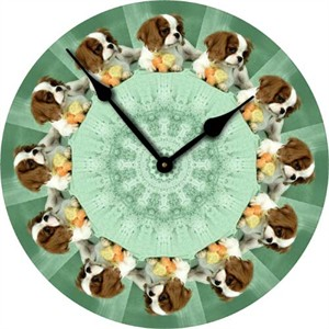 Cavalier King Charles Wall Clock