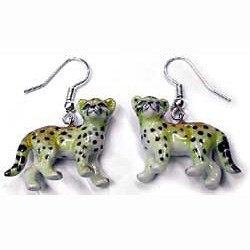 Cheetah Earrings True to Life