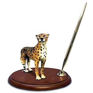 Cheetah Pen Holder