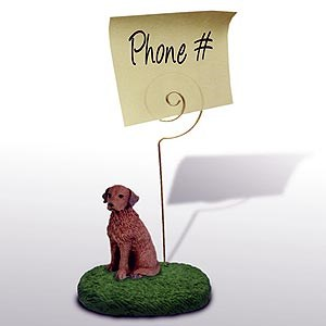 Chesapeake Bay Retriever Note Holder