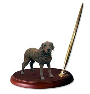 Chesapeake Bay Retriever Pen Holder