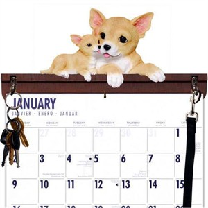 Chihuahua Calendar Caddy