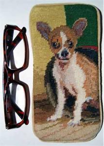 Chihuahua Eyeglass Case