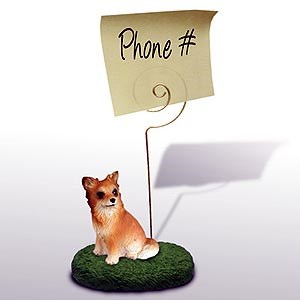 Chihuahua Note Holder (Long Haired)