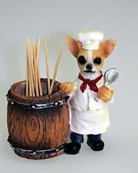 Chihuahua Toothpick Holder