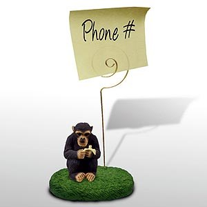 Chimpanzee Note Holder