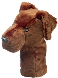 Chocolate Lab Golf Headcover