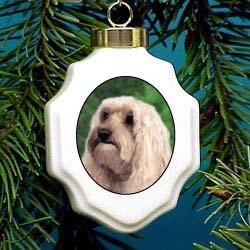 Cockapoo Christmas Ornament Porcelain