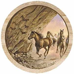 Arabian Horse Drink Coasters