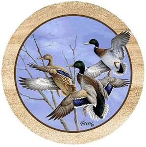 Wood Duck Drink Coasters