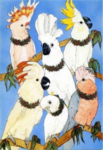 Cockatoo Christmas Cards