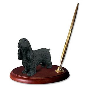 Cocker Spaniel Pen Holder