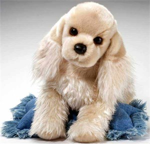 Cocker Spaniel Plush Stuffed Animal 16 Inch