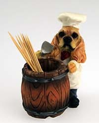 Cocker Spaniel Toothpick Holder