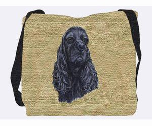 Cocker Spaniel Tote Bag (Black)
