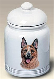 Australian Cattle Dog Cookie Jar