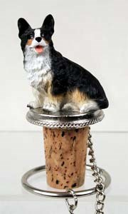 Corgi Bottle Stopper