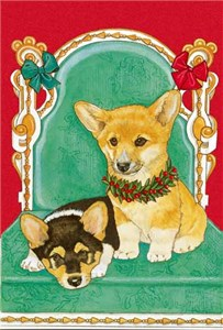 Corgi Christmas Cards