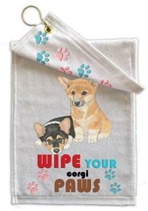 Corgi Paw Wipe Towel