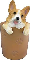 Corgi Pencil Holder