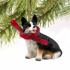 Corgi Tiny One Christmas Ornament Cardigan