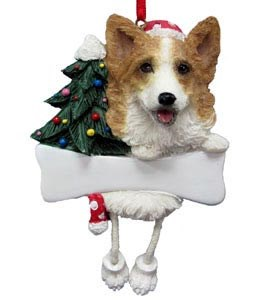 Corgi Christmas Tree Ornament - Personalize