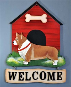 Corgi Welcome Sign Pembroke
