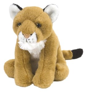 Cougar Plush Stuffed Animal 9 Inch
