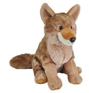 Curious Coyote Plush Stuffed Animal 12""