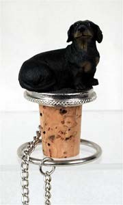 Dachshund Bottle Stopper