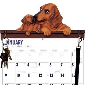 Dachshund Calendar Caddy