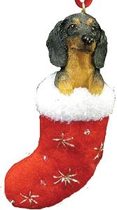 Dachshund Christmas Stocking Ornament