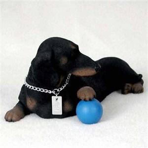 Dachshund Figurine Black MyDog
